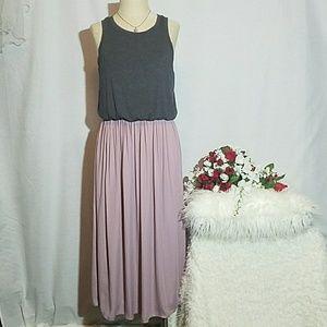 Loft mid length dress Medium
